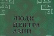 Люди центра Азии
